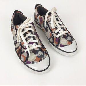 Coach Tennis Shoes Flats Walking Size 9 Barrett